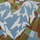 sunny love birds by Hannah Clair Phillips