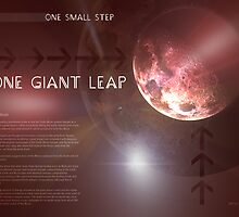 One Giant Leap by perkinsdesigns