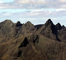 The Mighty Black Cuillin - Isle of Skye by Kat Simmons