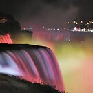Niagara Falls, NY night view by Sheri Nye
