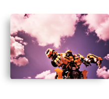 robots in the skies Canvas Print