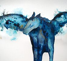 Equus caballus pegasus by Giulia Mauri