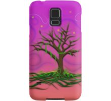 Neon Night Tree Samsung Galaxy Case/Skin