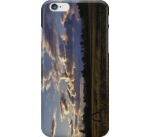 Spring Sunset, Evergreen Montana iPhone Case/Skin