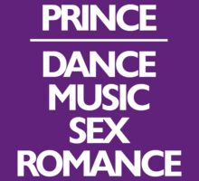 Prince DMSR - Dance Music Sex Romance by BXRdesign