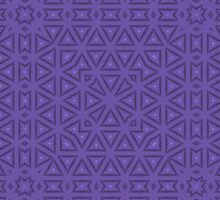 Purple vintage seamless abstract  by Nhan Ngo