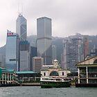 Hong Kong , Bank of China building, 2012. by johnrf