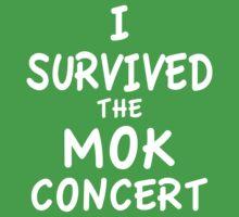 I SURVIVED THE MOK CONCERT Kids Clothes