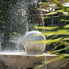 Carrara's fountain by Sebastian Ratti