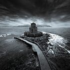 Beyond the sea, there is a small prison... by Stavros