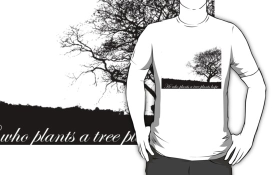 Tree T-shirt by Zozzy-zebra