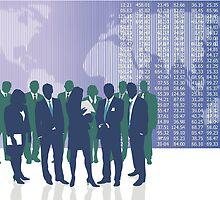 Business people by gepard