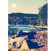 Rocky Shores of Lake Superior Photographic Print