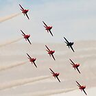 Red Arrows # 10 by Dale Rockell