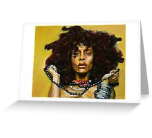 Erykah Badu Greeting Card
