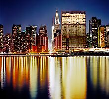 Romantic NYC Night by sxhuang818