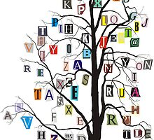 Alphabet tree by gepard
