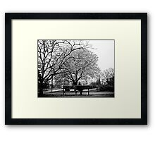 You are not alone. Framed Print