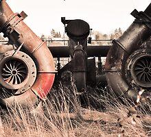 Steampunk Gasworks by Jim Adams