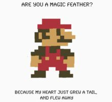 Super Mario Pick Up Line by Edie Johnston
