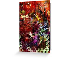 Day of the Dragonflies Greeting Card