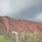 Painted Mountains of Colorado by AuntieBarbie