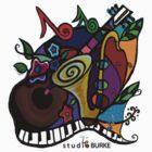 "s t u d i o  BURKE ""Jazzy T"" by Studio Burke"