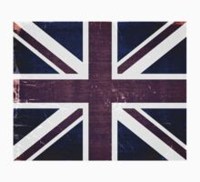 Vintage United Kingdom Flag by Nhan Ngo