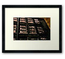 Alone in the loft Framed Print