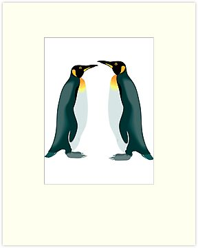 penguins talking to each other by nadil