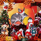 Aussie Christmas Collage by Kayleigh Walmsley