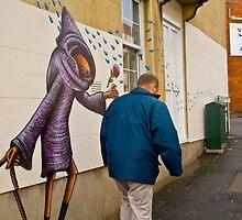 Street Art, Bristol by Dave Mason