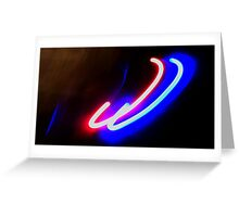 I guess it could be neon? Greeting Card