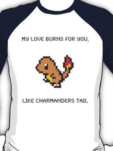 Charmander Pick Up Line T-Shirt