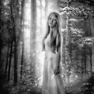 The Forest Princess BW by Erik Brede