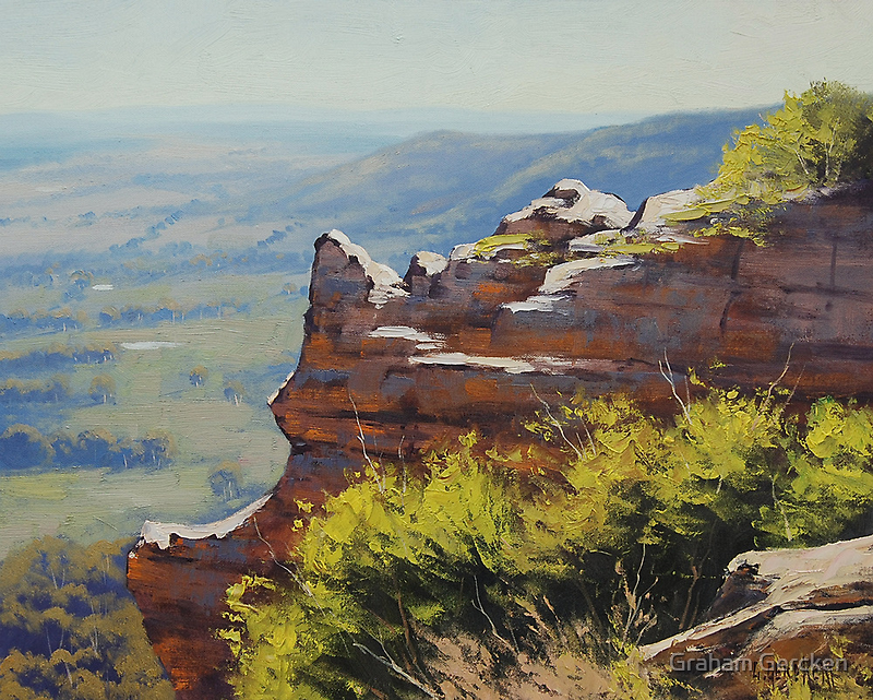 Lithgow Landscape by Graham Gercken