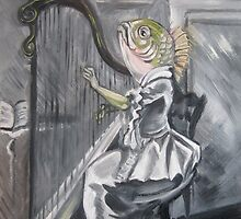 Fish With Harp by Ellen Marcus