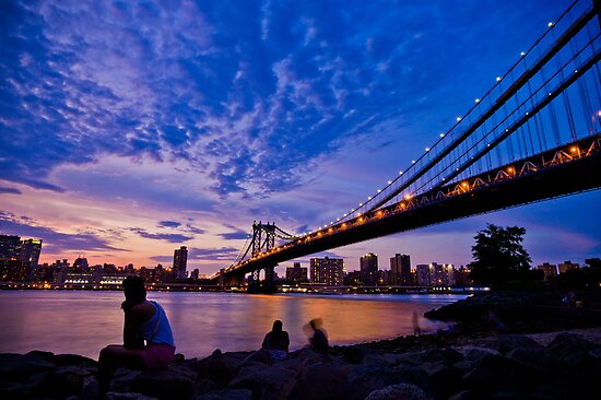 The Sunset of Hometown - NYC by sxhuang818