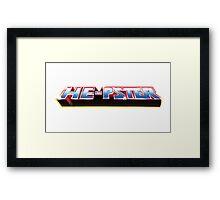 He-Pster Logo Framed Print