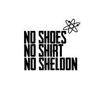 No Shoes, No Shirt, No Sheldon! by Roseanna19