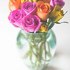 Roses In a Vase[Colour] by Nicola  Pearson