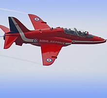 Red Arrows Singleton - Farnborough by Colin J Williams Photography