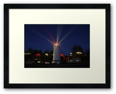 Umpqua Lighthouse by James Eddy