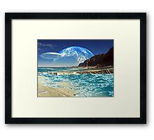 The Shell Seeker Framed Print