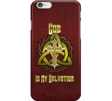 God Is My Salvation iPhone Case/Skin
