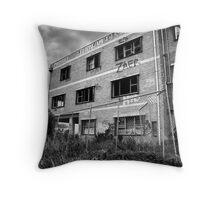 Abandoned Abattoir Throw Pillow
