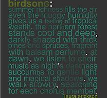 Birdsong by jegustavsen
