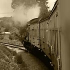 Steaming Sepia by kalaryder