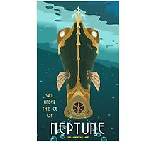 Neptune Travel Poster Photographic Print