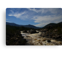 Snowy River NSW HDR #2 Canvas Print